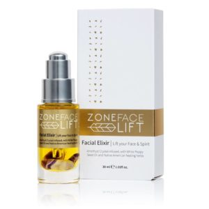 Picture of the Zone Face Lift Elixir used in the treatment.